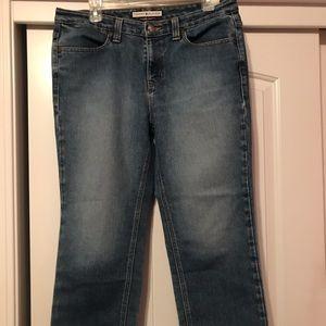 Tommy Hilfiger hipster jeans.
